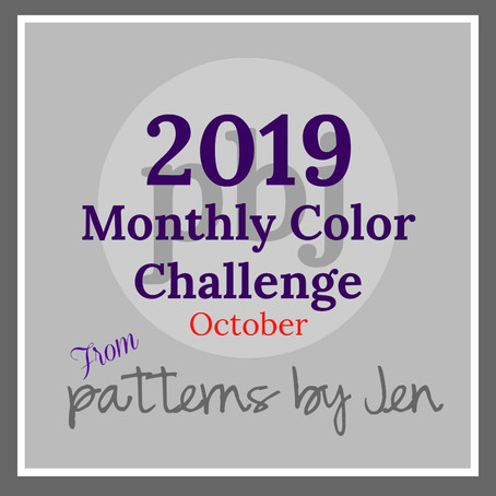 Monthly Color Challenge: October