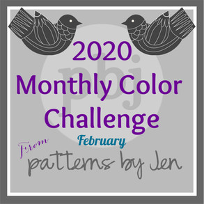 #2020 Monthly Color Challenge