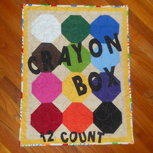 Crayon Box Wall Hanging Pattern