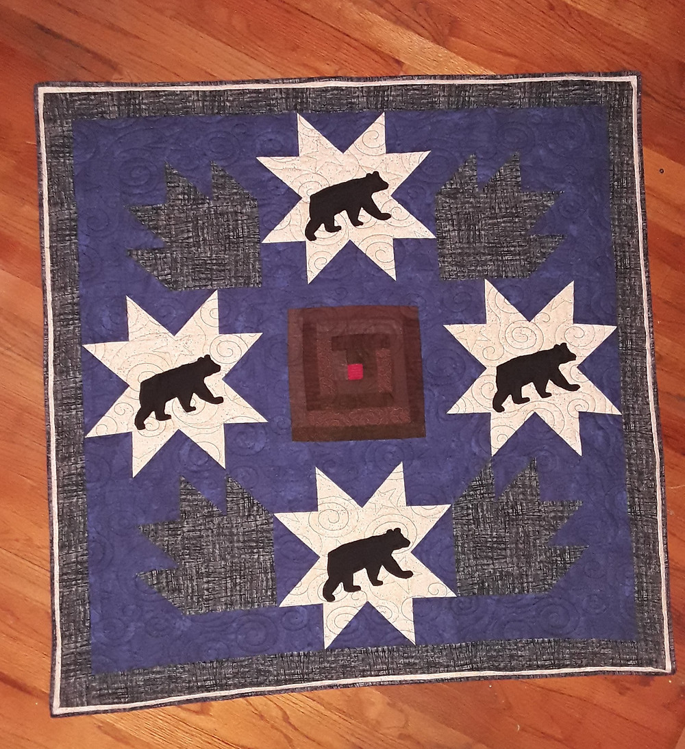 Quilt #5: Night of the Grizzly