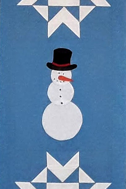 Welcoming Snowman Wall Hanging