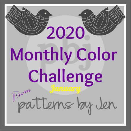 2020 Monthly Color Challenge