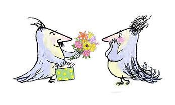 Bird Troll in Love