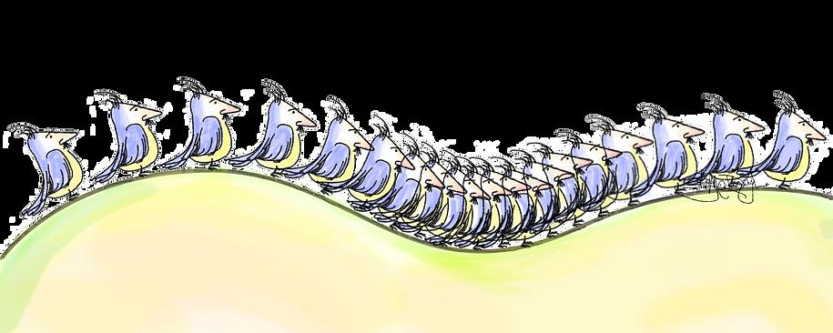 Bird troll doodle- Sukey McDonough