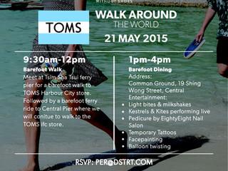 TOMS: Walk Around the World
