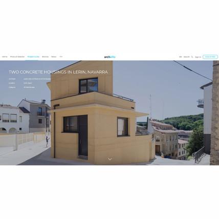 TWO CONCRETE HOUSING IN LERIN, NAVARRA