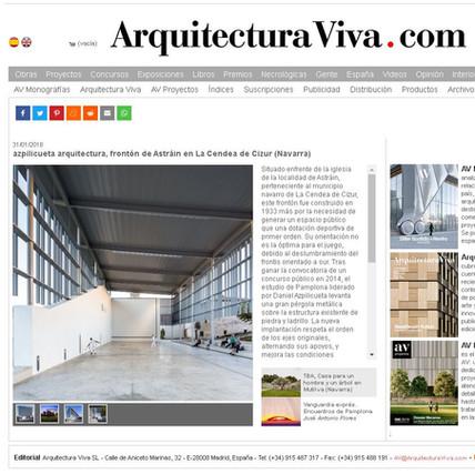 CUBRICIÓN DEL FRONTÓN DE ASTRAIN