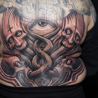 Friday Tattoo of the Day B&G