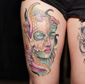 Friday Tattoo of the Day Color