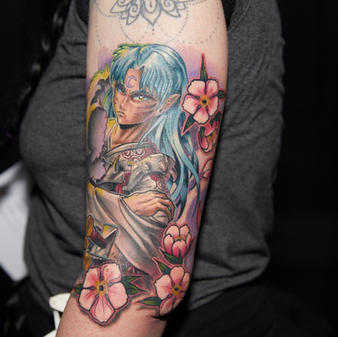 Saturday Tattoo of the Day Color