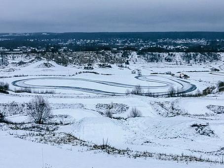 """Зима пришла в Мотопарк """"Вельяминово"""""""