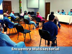 Encuentro multisectorial en defensa de la Institucionalidad.