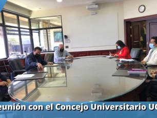 Diputado Walter Muñoz y Concejo Universitario de la UCR coinciden sobre proyecto de Ley.