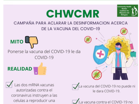 Joins us to denounce misinformation against COVID-19 Campaign