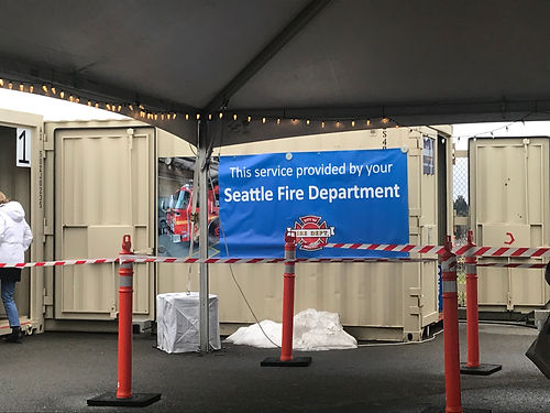 Thanks to our Seattle Fire Department  for listening us during the COVID-19 pandemic.