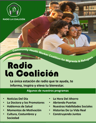 La coalición the radio for CHWs.