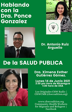 Talking about Public Health and COVID-19 Pandemic with Dr. Ponce-Gonzalez