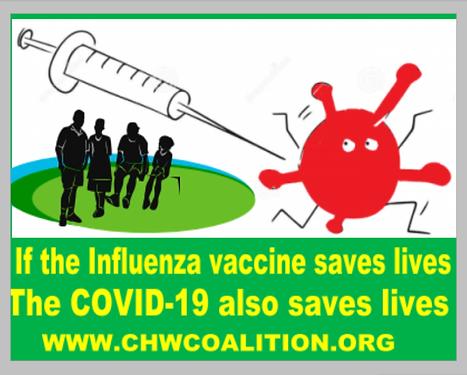Vaccine=Save Live