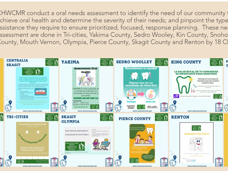 Oral Need Assessment is conducting by 18 CHWs (CHWCMR/Arcora Fundation) in Washington State.