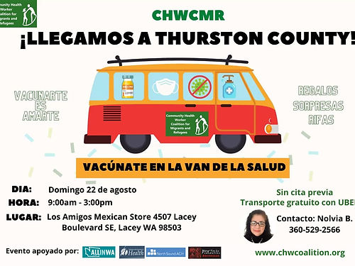 The Cara-Vans of CHWCMR, which save lives... one of them is going to Thurston this Sunday