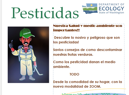 Our CHWs are now ready to virtually training against Human and Environmental Exposure to Pesticides.