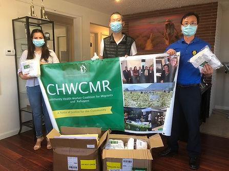 CHWCMR masks donation to Northern Seattl