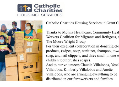 CHWCMR loves to partnership with organization who care about our communities.