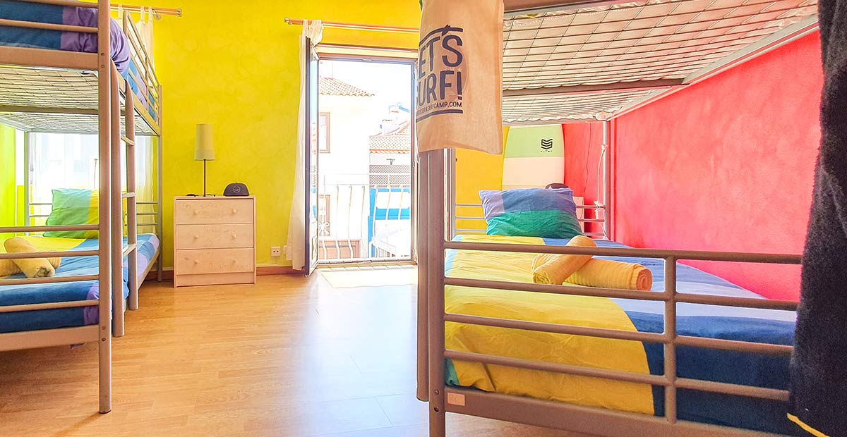 4 Bed Dorm Ericeira Surfcamp