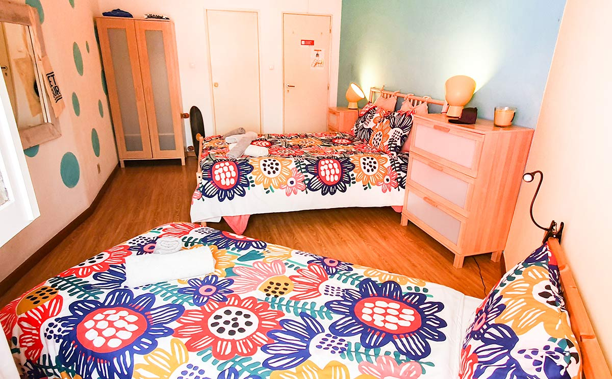 Family Room Ericeira Surfcamp