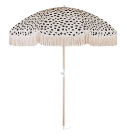 dot fringe umbrella