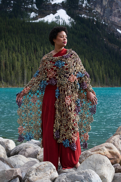 Within Your Reach Ruana - Crochet Pattern