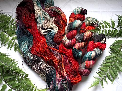 Rainbow Trout - Heather Sock