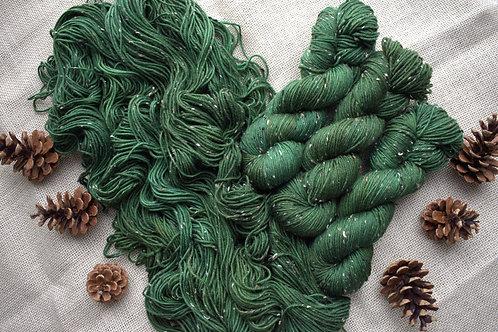Moss - Highland Tweed DK