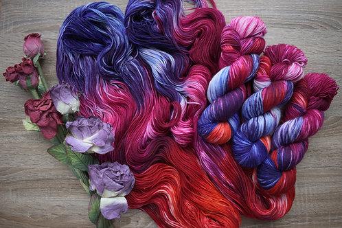 Rose & Iris - Prairie Sock