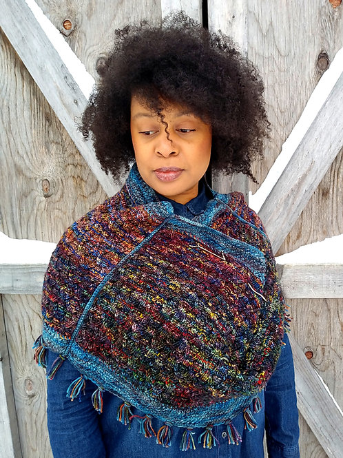 Laurentian Winter Cowl - Knit Pattern