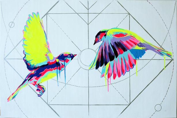Cosmic Lovebirds