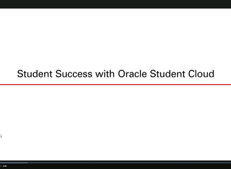 Oracle Cloud for Higher Education