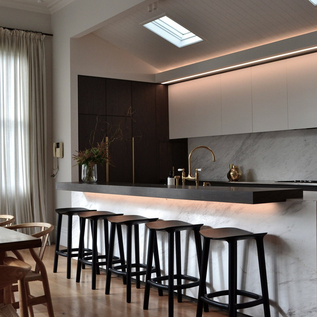 High spec kitchen renovation in coordina