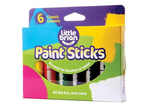 Paint Sticks Classic Colours - 6 assorted