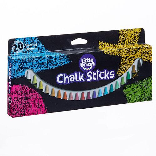 Paint Sticks Chalk - 20 Assorted