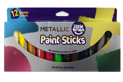 Paint Sticks Metallic Colours - 12 assorted