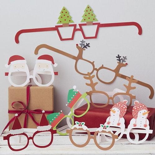 CHRISTMAS NOVELTY FUNGLASSES