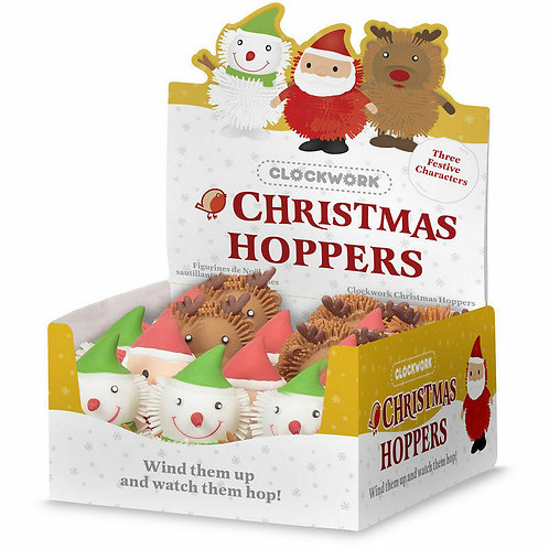 CLOCKWORK CHRISTMAS HOPPERS