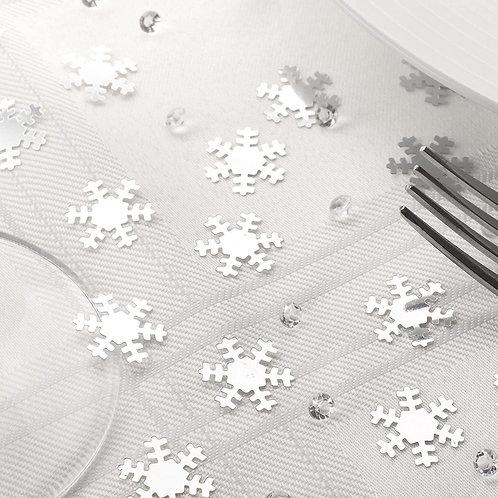SHIMMERING SNOWFLAKES & DIAMONDS CONFETTI