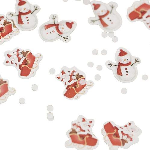 FESTIVE CONFETTI - CHRISTMAS SNOWMAN