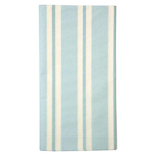 Pale Blue Stripe Tablecloth
