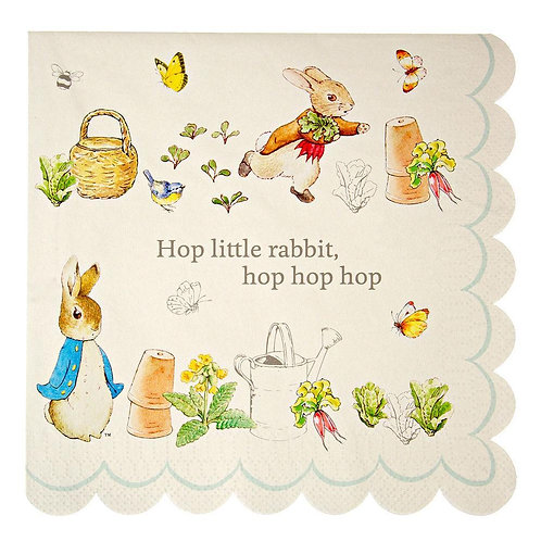Peter Rabbit Large Napkins