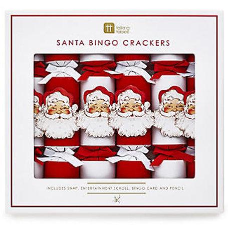 SANTA BINGO CHRISTMAS CRACKERS