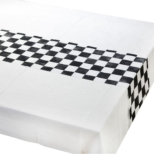 TRULY ALICE PLATTERS CHEKERED TABLE RUNNER