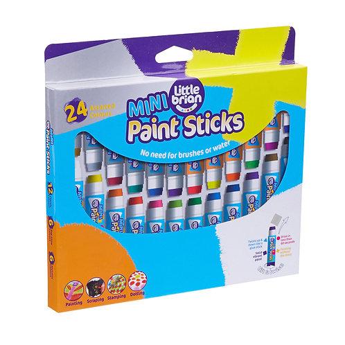 Paint Sticks Mini - 24 Assorted